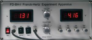 Franck-Hertz apparatus II