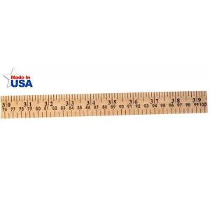 Meter Stick with Plain Ends