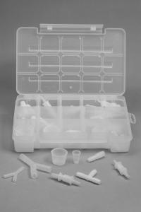 SCIENCEWARE® 72-Piece Complete Fitting Assortment, Bel-Art