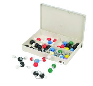 Basic Inorganic and Organic Chemistry Molecular Model Set, 78 Pieces