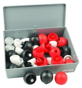 Magnetic Molecular Model Set, 36 Atoms