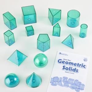Geometric Solids Set