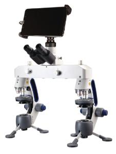 Swift M3F Microscope with Digital Tablet
