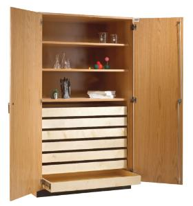 Diversified Rock/Paper Storage Cabinet