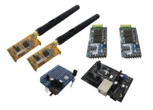 Asuro Wireless APC-220 & Bluetooth Kit
