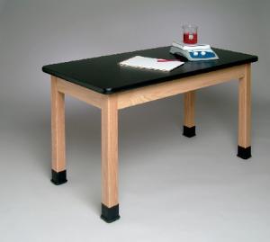 "Student Tables, Plain Aprons, 1  1/4"" Plastic Laminate Surface"