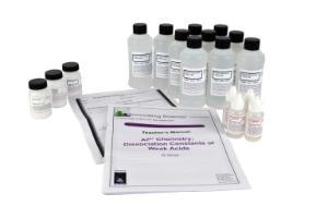 Dissociation Constants of Weak Acids Kit