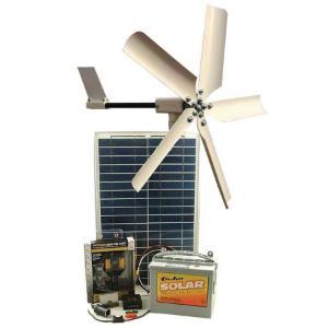 PicoTurbine 50-Watt Hybrid Solar/Wind Energy System