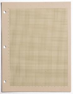 Graduated Metric Graph Paper