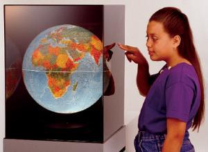 The Blue Planet Globe