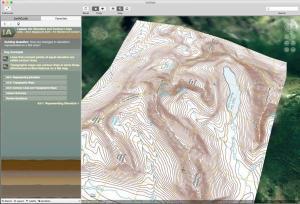 Layered Earth Geography Web