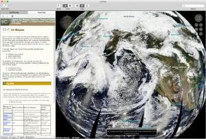Layered Earth Geography Web