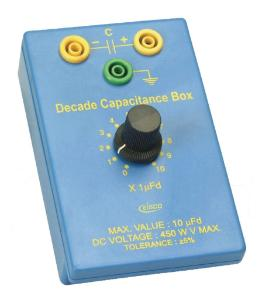 0–1000pF Decade Capacitance Box