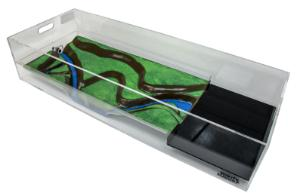 Stormwater Floodplain Simulation System, Diorama-Long-Angle-R