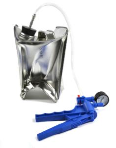 Collapsible Metal Can with Hand Pump and Stopper