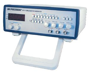 5 MHz Function Generator with Display