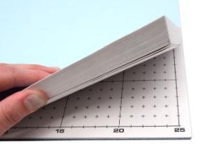 White Paper Grid, Non-Conductive