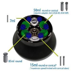 Super-Rotor and 50 ml Tube Adaptors