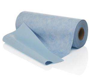 Super absorbent blue soakers, 50.8 cm × 30.5 m