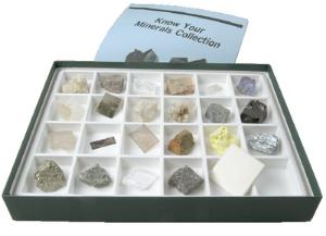 Sargent Welch Know Your Minerals Collection
