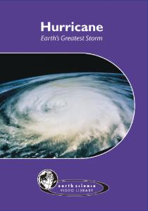Hurricane: Earth's Greatest Storm DVD