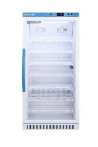 Medical laboratory series refrigerator with glass doors, 8 cu.ft.