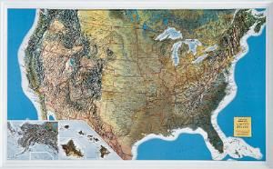 United States Relief Map