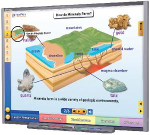 Interactive Whiteboard Science Lessons: Minerals