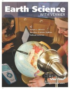 Earth Science with Vernier Lab Book
