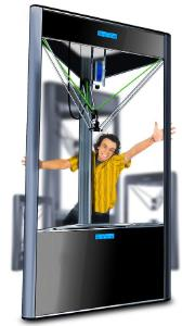 3D printer WASP Delta Turbo 60100