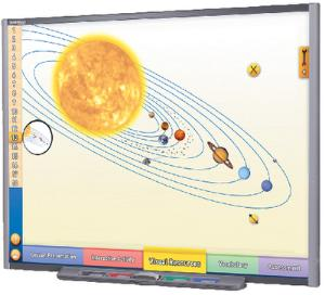 Interactive Whiteboard Science Lessons: Our Solar System
