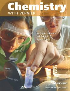 Chemistry with Vernier Lab Book