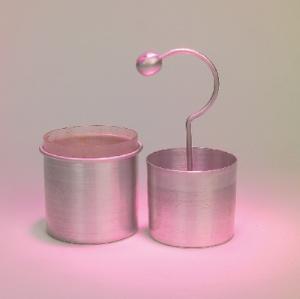 Dissectible Student Leyden Jar