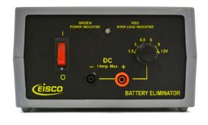DC Battery Eliminator, 1 Amp
