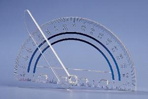 Overhead Projection Protractor