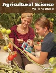 Agricultural Science with Vernier Lab Book