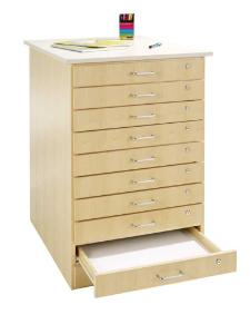 Taboret, 10 Drawers