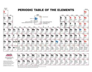 Ward's® Discount Intermediate Periodic Table