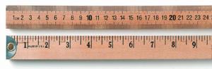Wooden Meter Stick