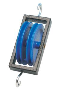 Metal Pulley Double Parallel