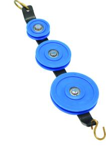 Plastic Pulley Triple