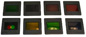 Color Filters, Mounted