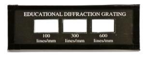 Educational Diffraction Slide