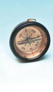 Aluminum Pocket Compass