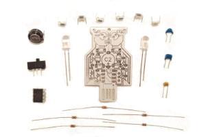 Intermediate Soldering Kit, Solar Powered LED Owl