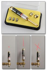 Laser Pointer with Stay-On Button