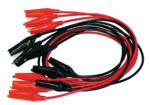 Alligator clip wires