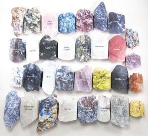 Model kit minerals