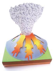 Model kit volcano
