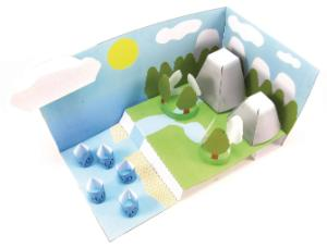 Model kit water cycle